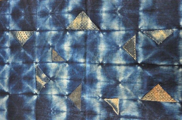 sashiko patchwork shibori