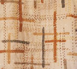 Onion skins on linen