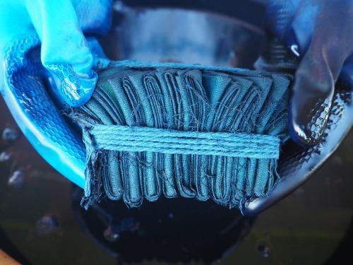 oxidizing shibori