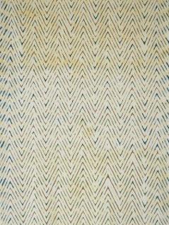Handwoven cotton scarf dyed with indigo and map hut maphut (Gardenia Dulcis)