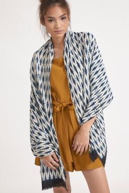silk rayon scarf