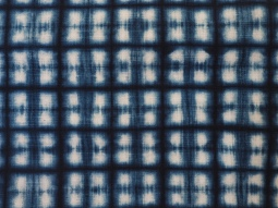 Indigo on cotton